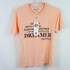 WILDFOX DREAMER T-Shirt size 2 (y)
